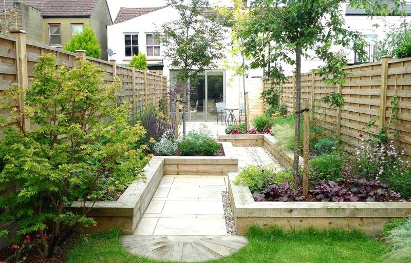 Felújított kert inspiráció