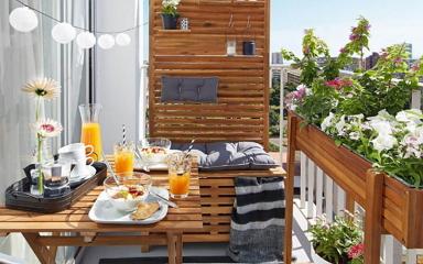 5 lépés, hogy a balkonodból kényelmes és szép pihenő teret varázsolj!