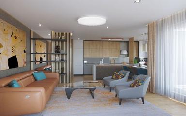 Zuglói családias otthon mid-century modern stílusban - Dóró Judit belsőépítész tervei