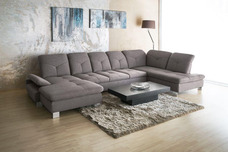Madrid kanapé állítható fejtámla ívben