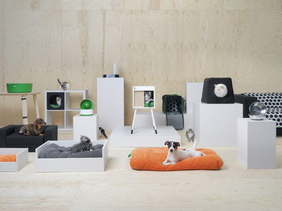 Ikea Lurvig kollekció macskáknak és kutyáknak