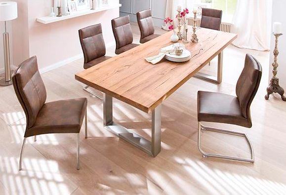 Castello tölgyfa asztal