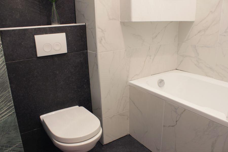 Modern fürdőszoba átalakítás