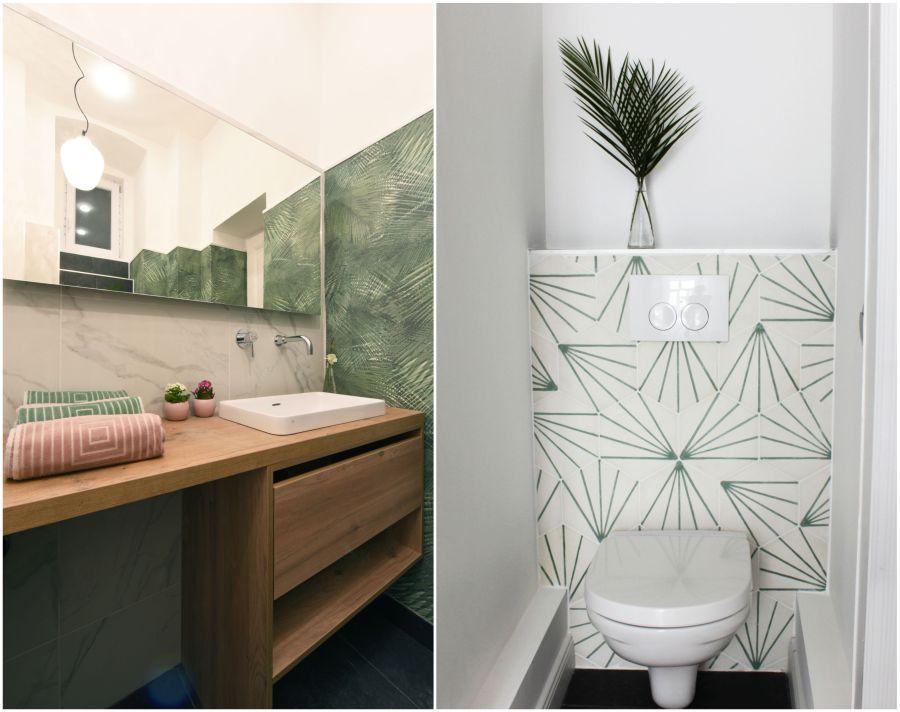 Home Staging fürdőszoba és wc