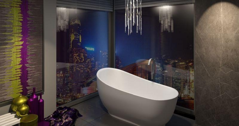 K.K. Beltér Stúdió fürdőszoba design