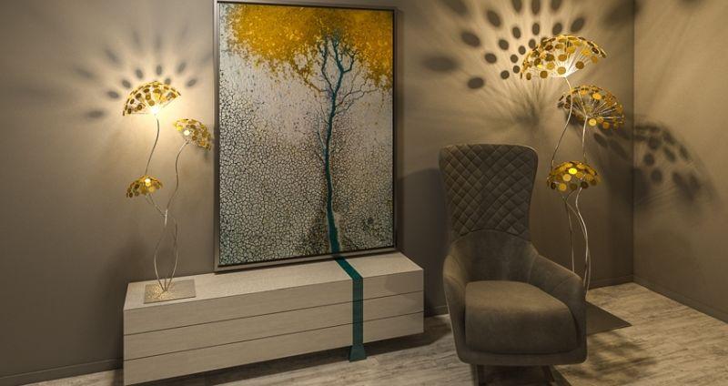 K.K. Beltér Stúdió egyedi nappali bútor tervezés