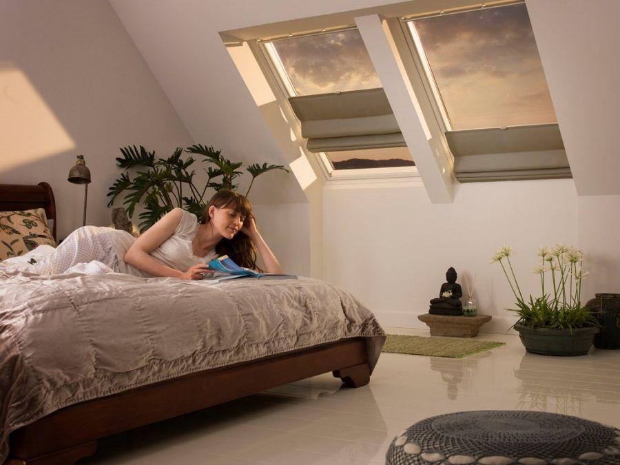 Velux tetőablak belső árnyékoló