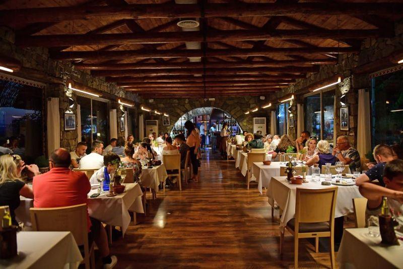 A felújított étterem