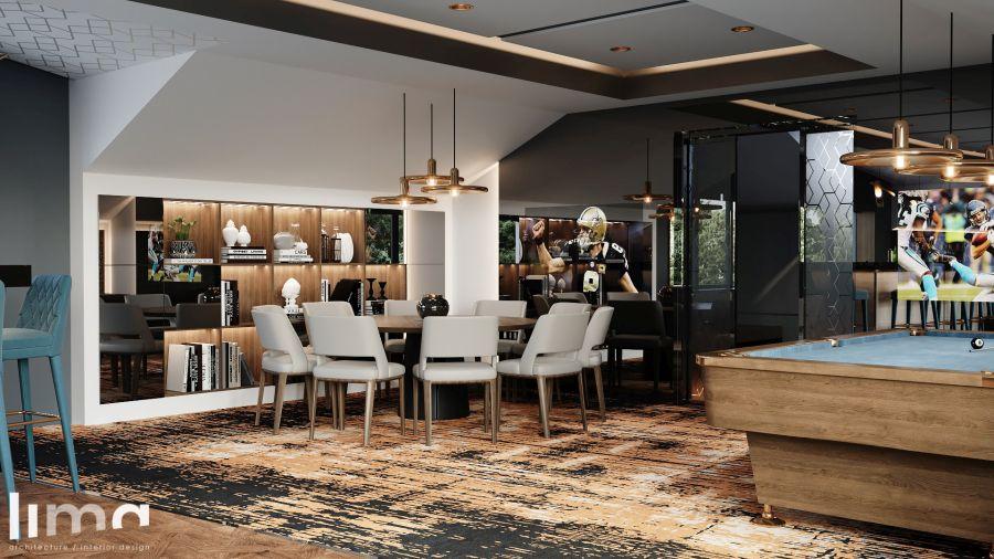 Lima Design - Férfibarlang pókerasztal