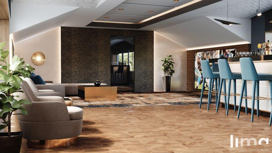 Lima Design - Férfibarlang lounge szekció