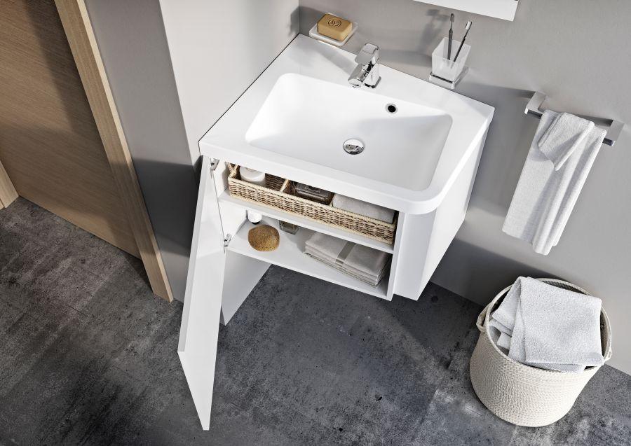Ravak fürdőszoba bútor kis fürdőszobához