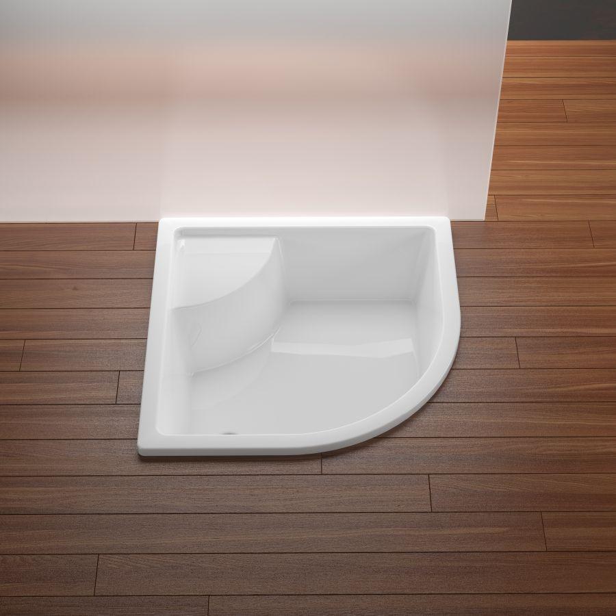 A RAVAK Sabina zuhanytálcája tökéletes és kompakt megoldást kínál