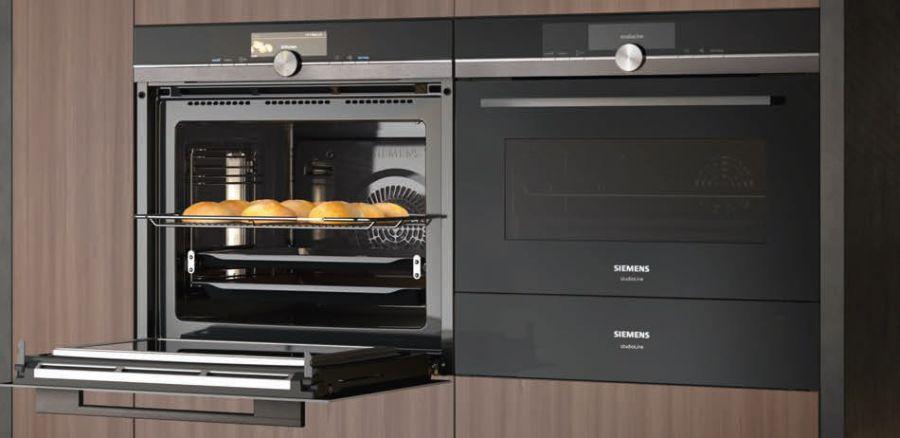 Siemens iQ700 gőzsütő hangvezérléssel