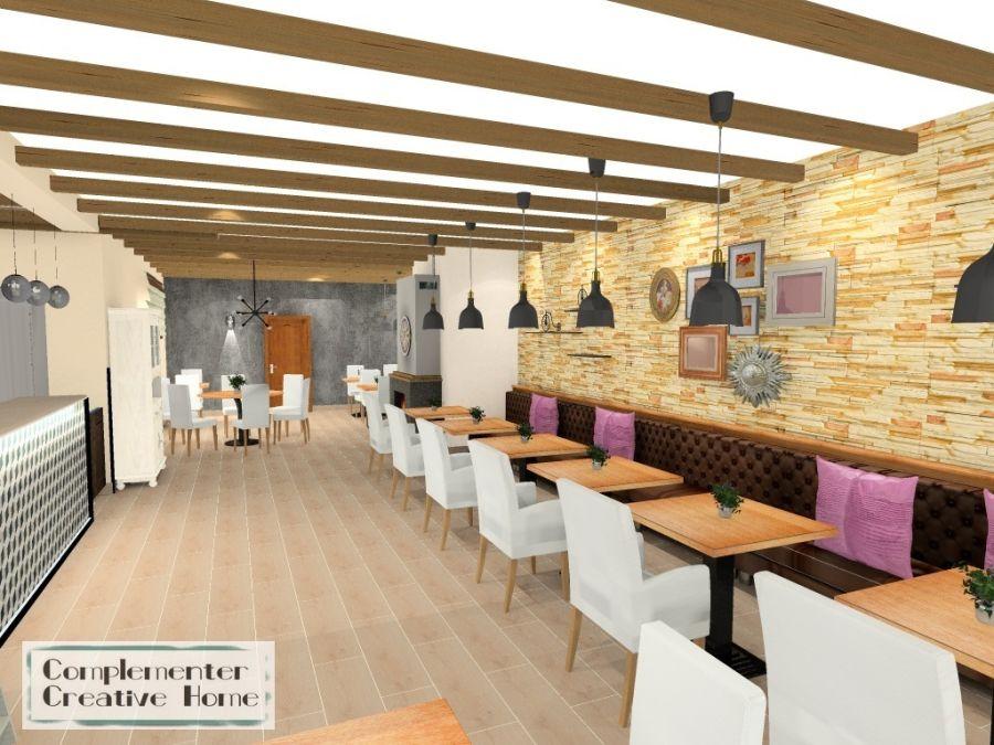 Babylon Pizzéria belső terei - Complementer Creative Home látványterv