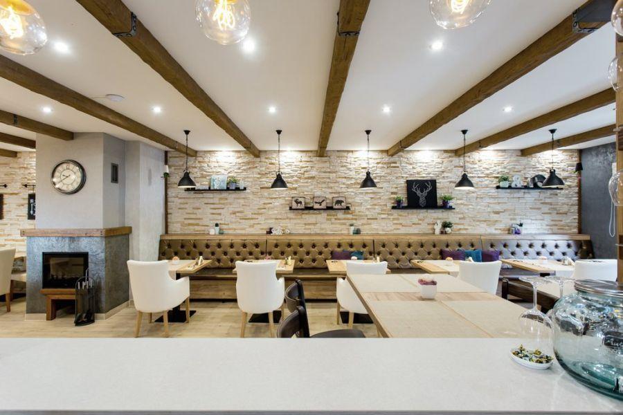 Babylon Pizzéria belső terei - Complementer Creative Home