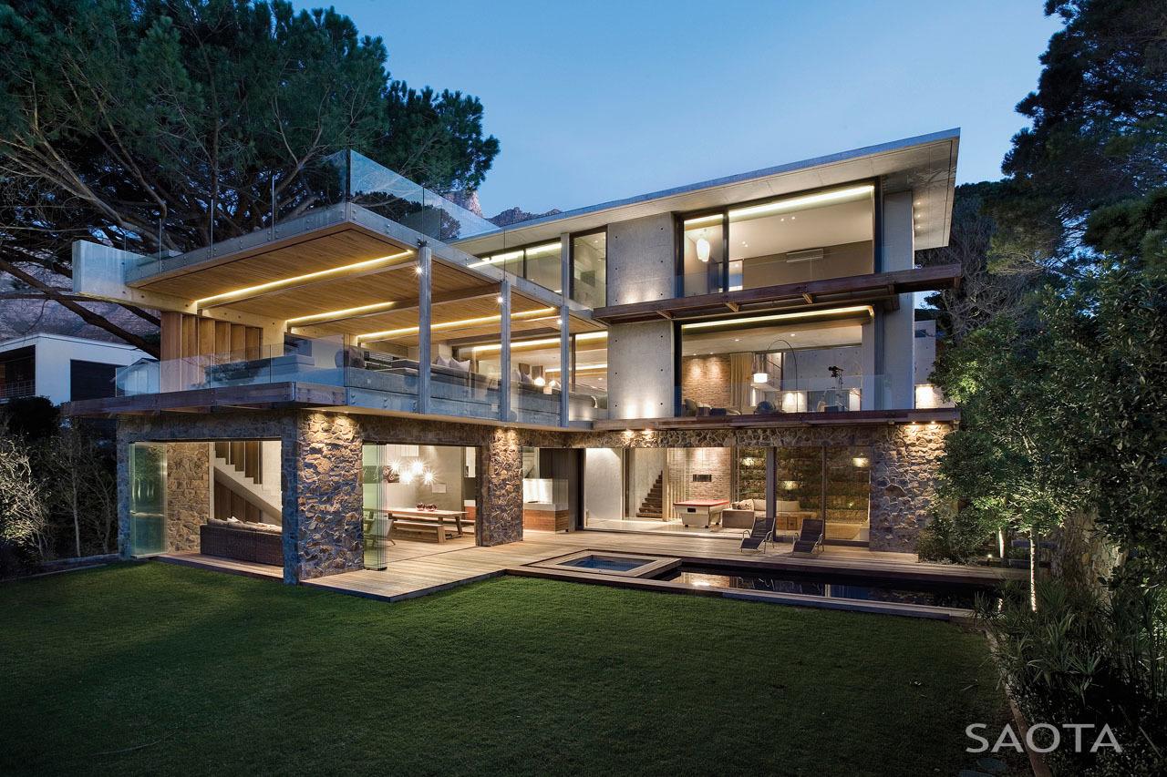 SAOTA ház contemporary stílusban