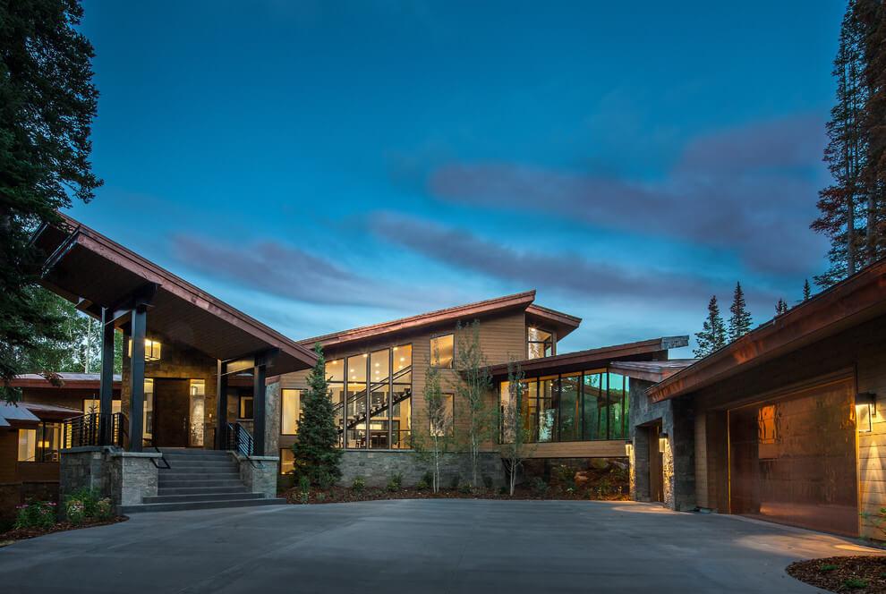 Freeman lakóház Utah eredeiben