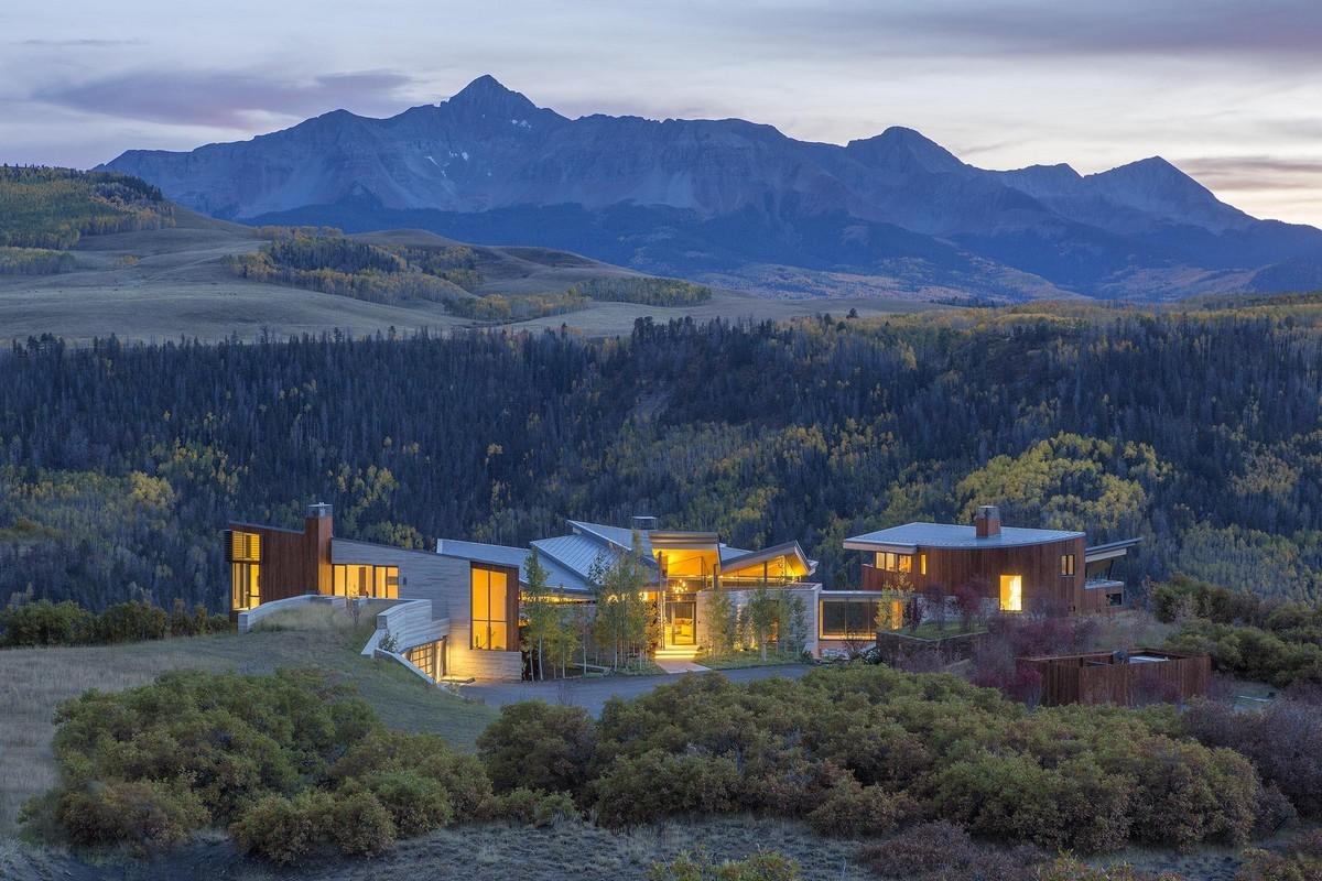 Modern ház Colorado államban