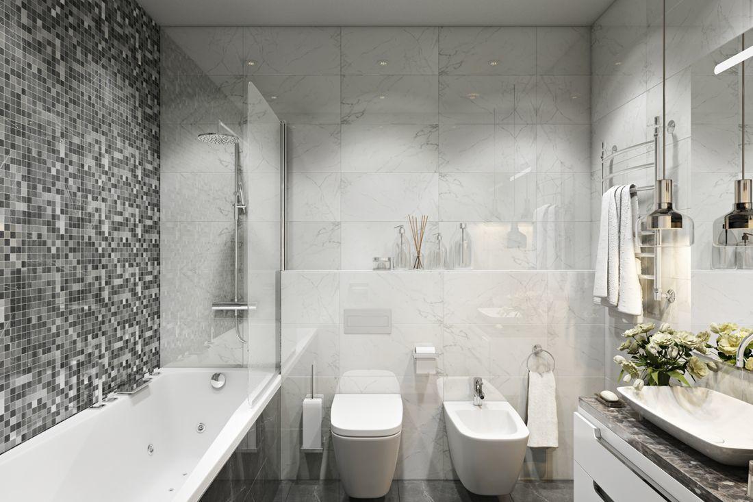 Mozaikok a fürdőszobában