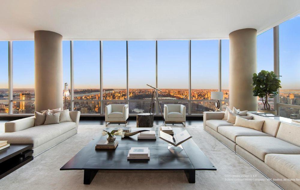 Lakás egy felhőkarcolóban
