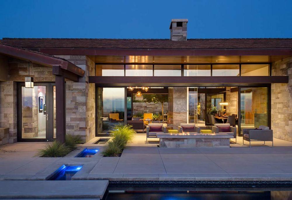 Modern földszintes ház San Diego-ban