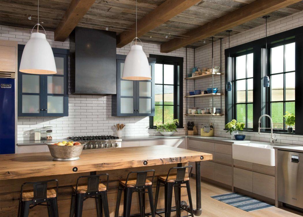 Vintage-vidéki hangulat a konyhában