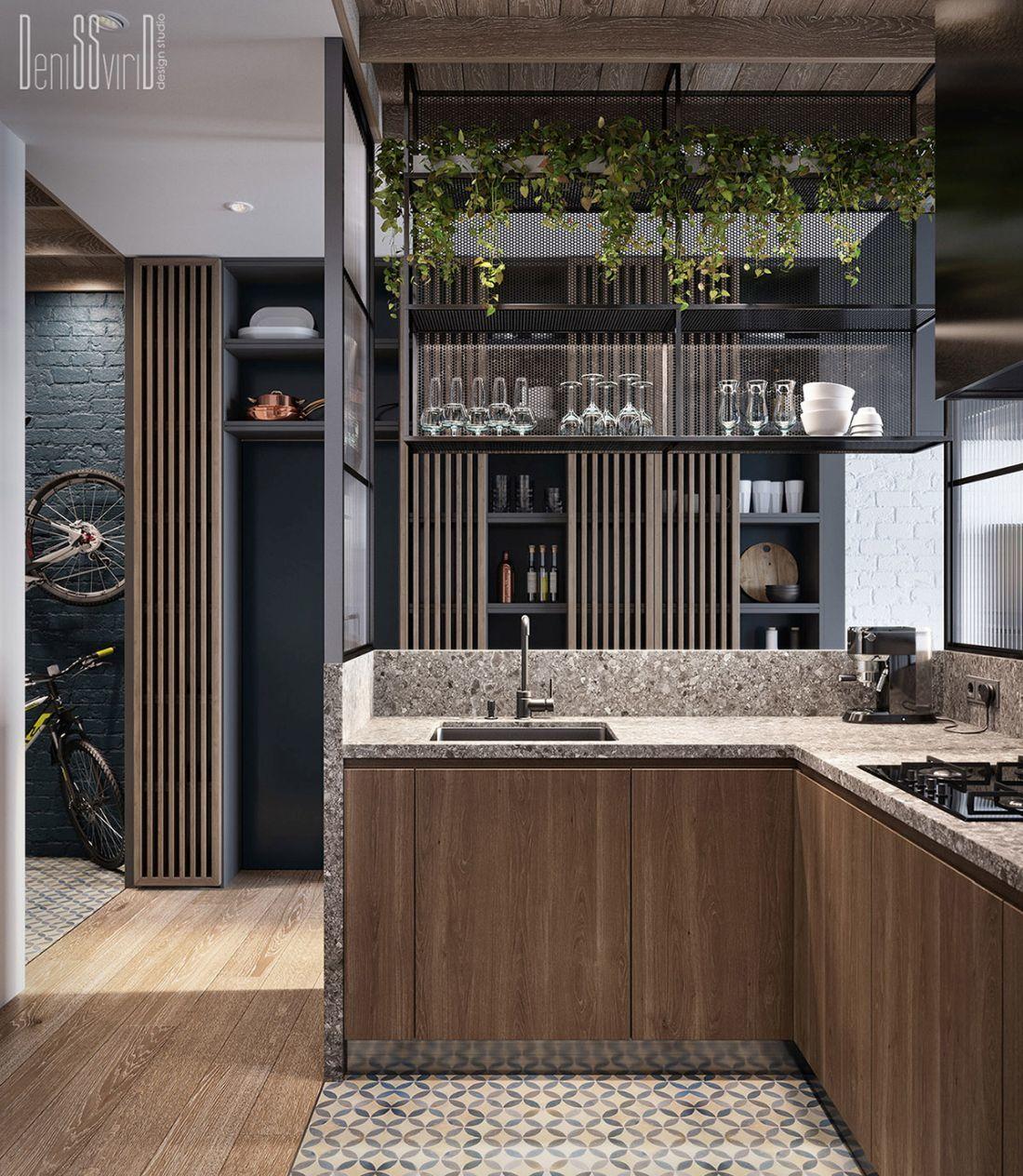 Letisztult minőségi felületek finom összhangja a konyhában