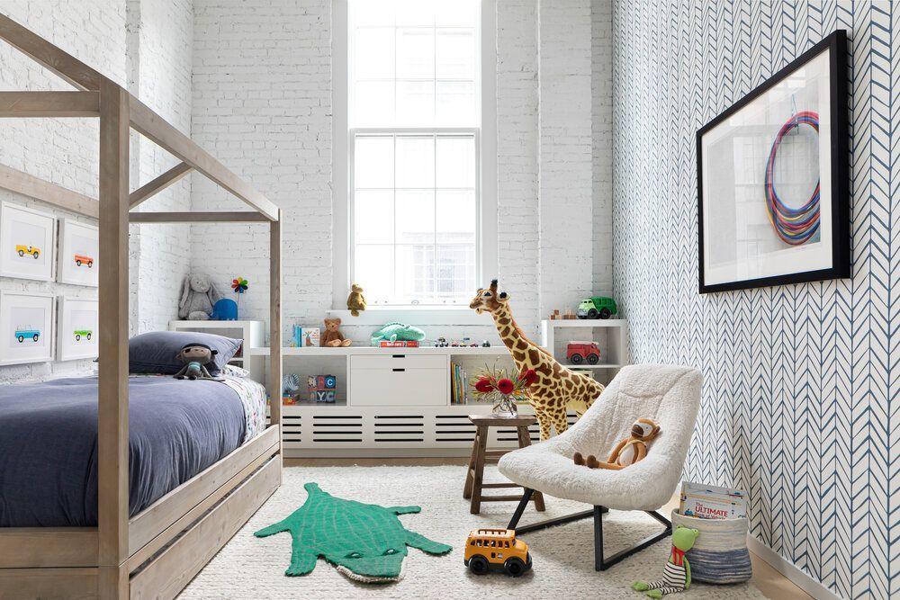 Fiúszoba lakberendezés loft lakásban