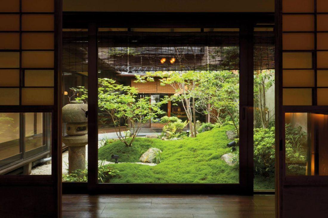 Zen belső kert Japánból