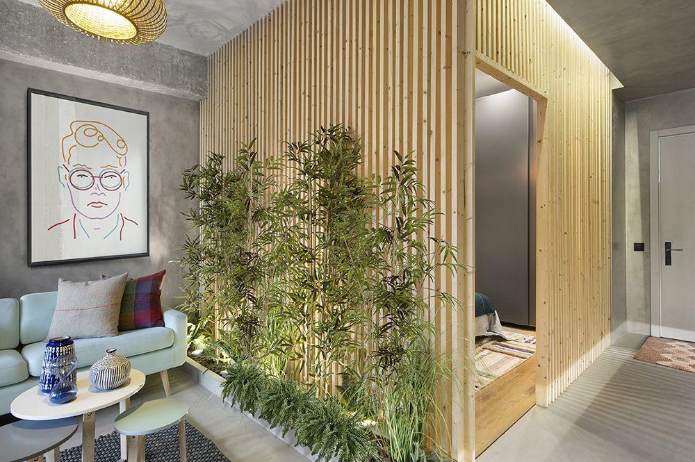 A bambusz lágyítja a szigorú éleket