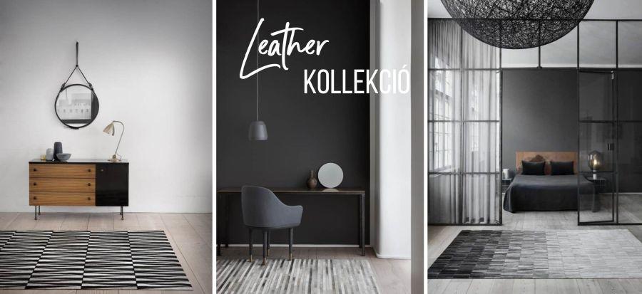 Linie Design leather szőnyeg
