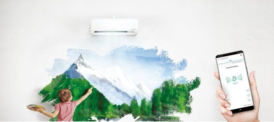 LG Dual Cool okos klíma ami a levegőt is tisztítja