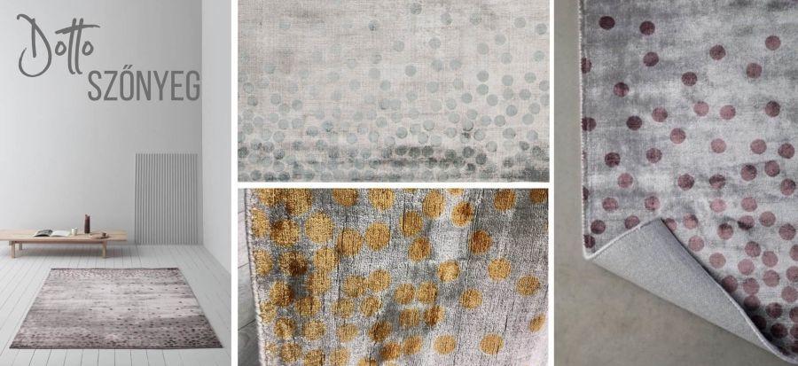 Dotto Linie viszkóz szőnyeg