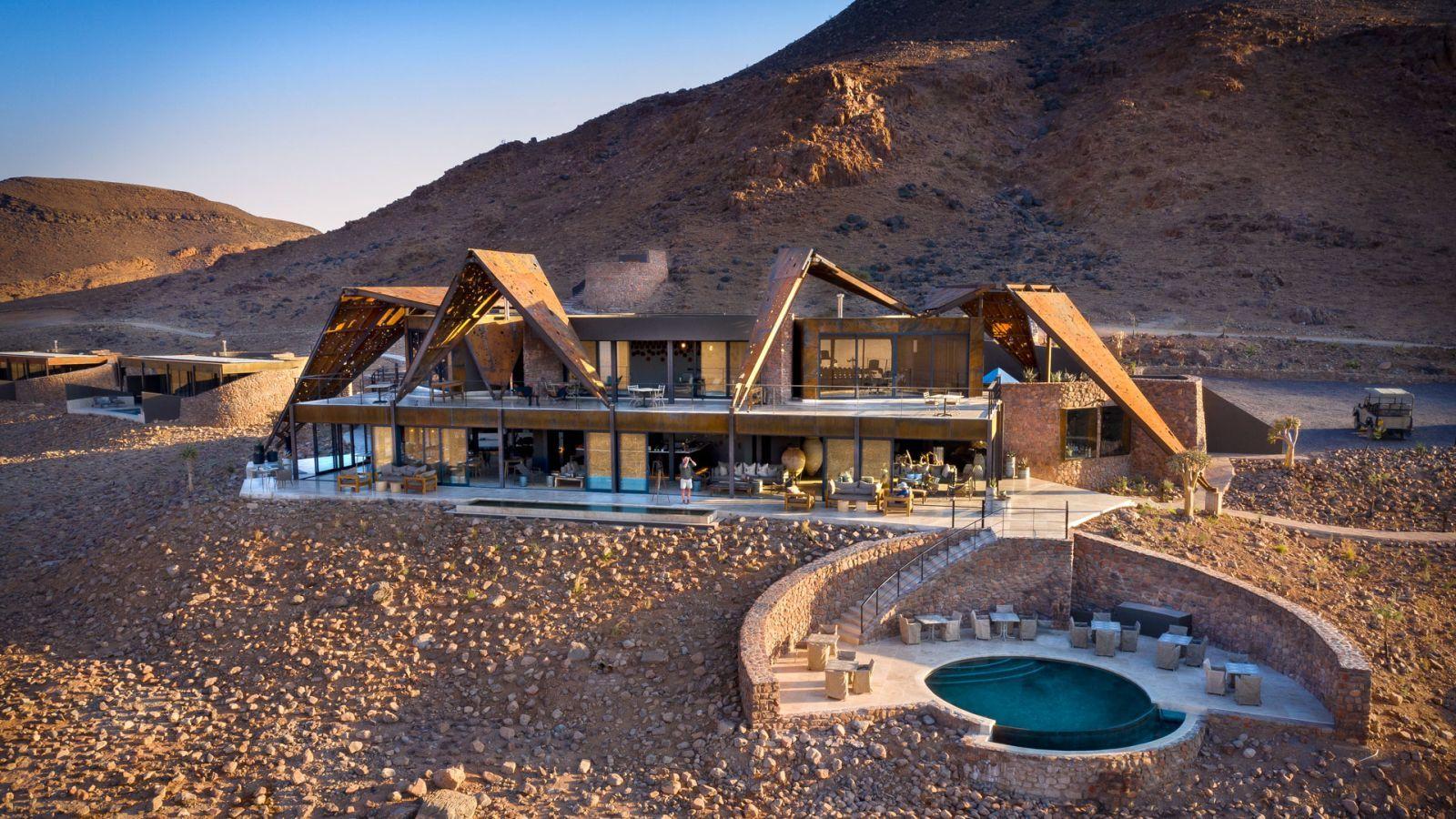 &Beyond Sossusvlei Desert Lodge a Namib-sivatagban