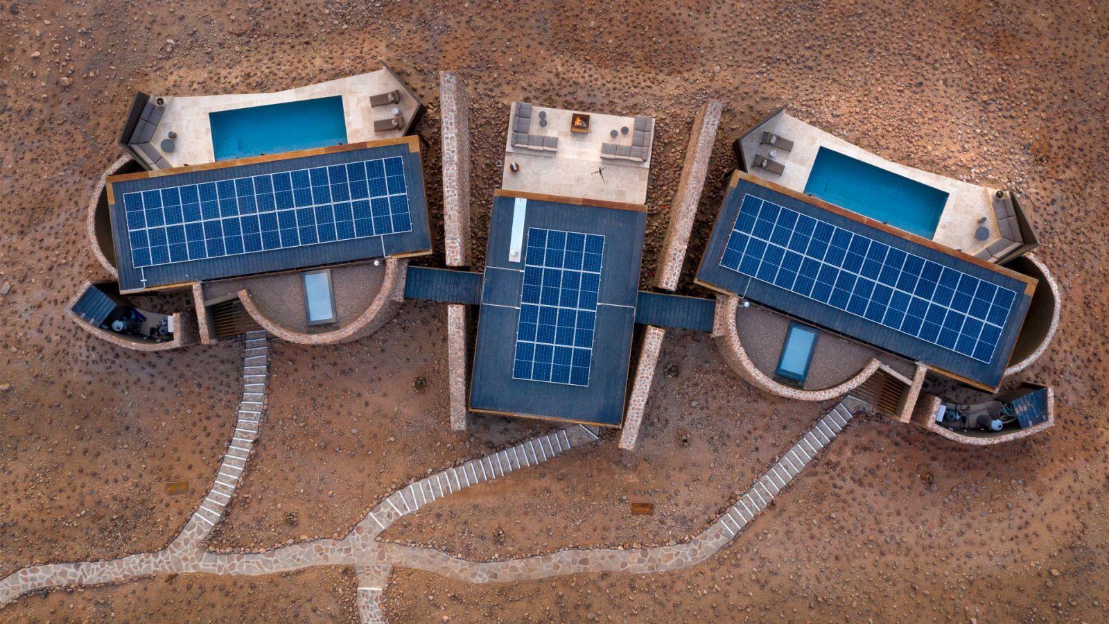Napelemek gondoskodnak az áramtermelésről