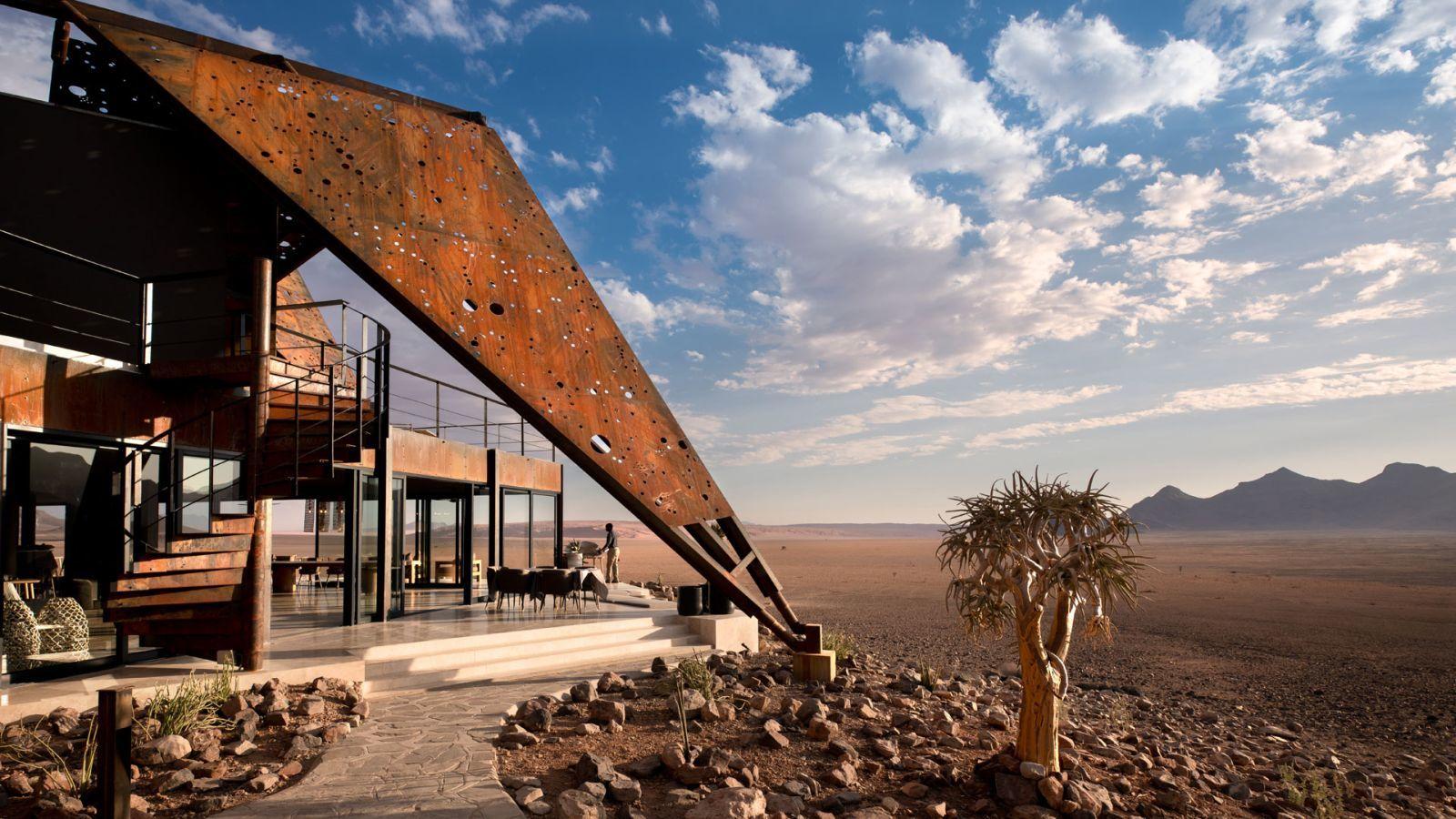 Látványos corten acél épületelemek