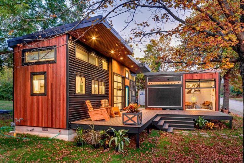 Miniház, tiny house mobil stúdióval