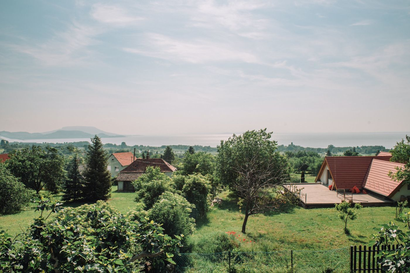 A megunhatatlan panoráma - Noemi's Cottage Balatongyörök