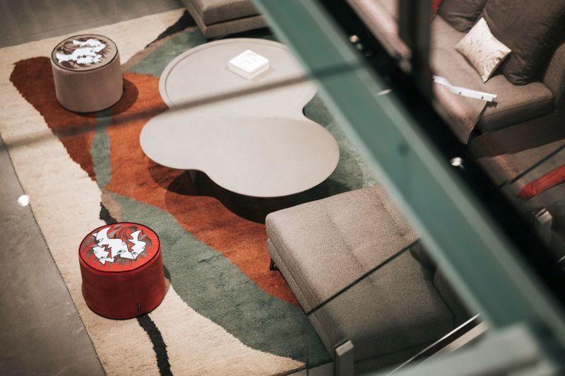 Szőnyeg Roche Bobois bútorokhoz