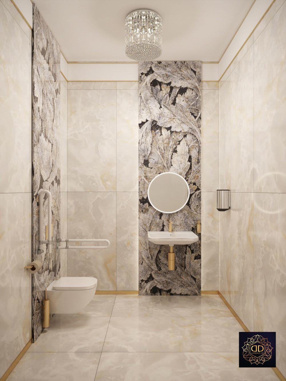 Luxus színvonalú mozgássérült mosdó