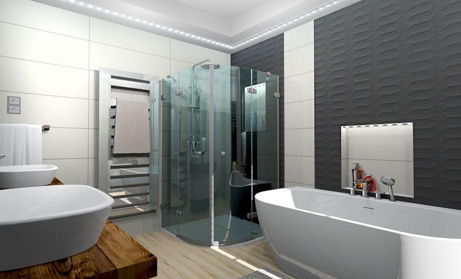Modern fürdőszoba Lia Design