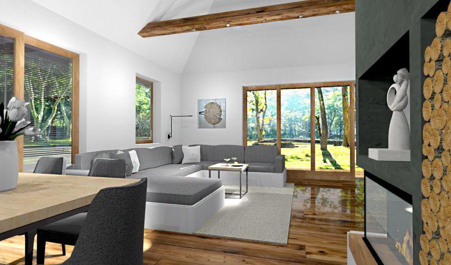 Kényelmes kanapé a nappaliban