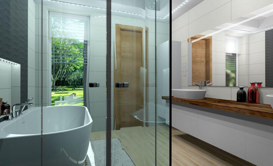 Soproni ház fürdőszobája