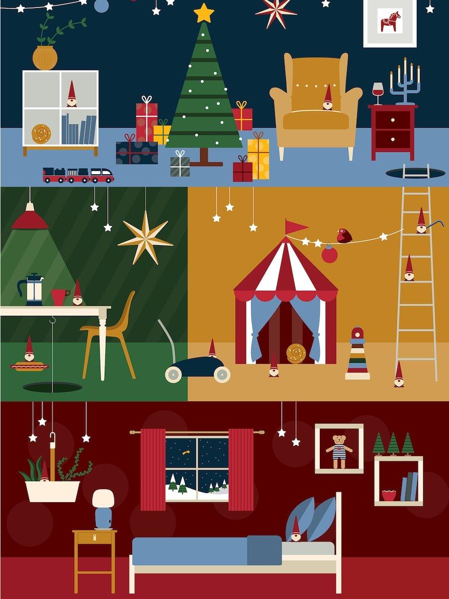 Ikea adventi kalendárium