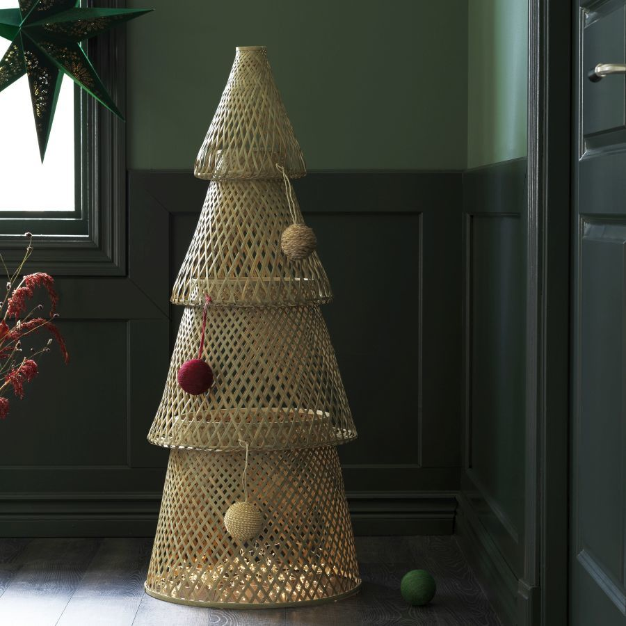 Ikea bambusz karácsonyfa