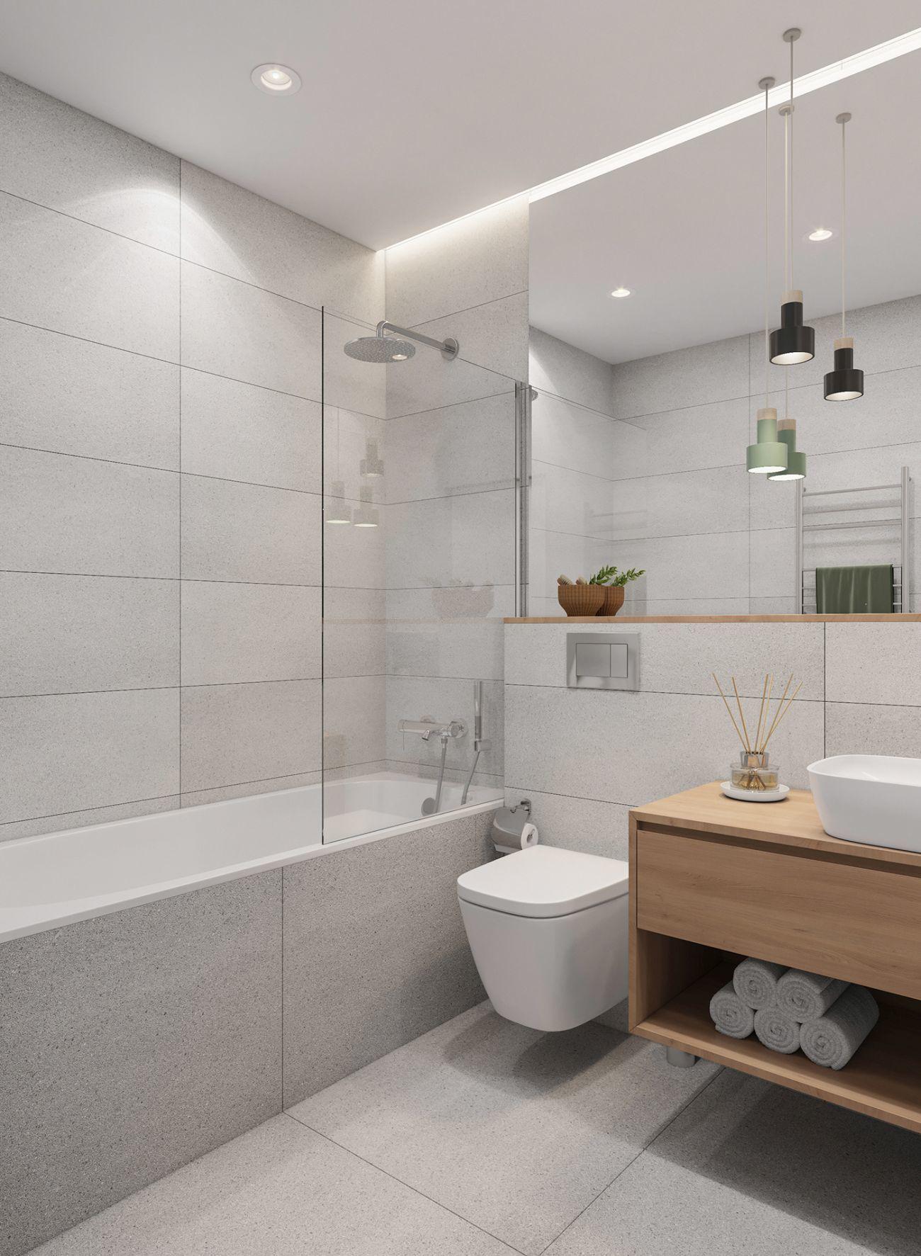 Zuhanyzóval kombinált fürdőkád és kádparaván