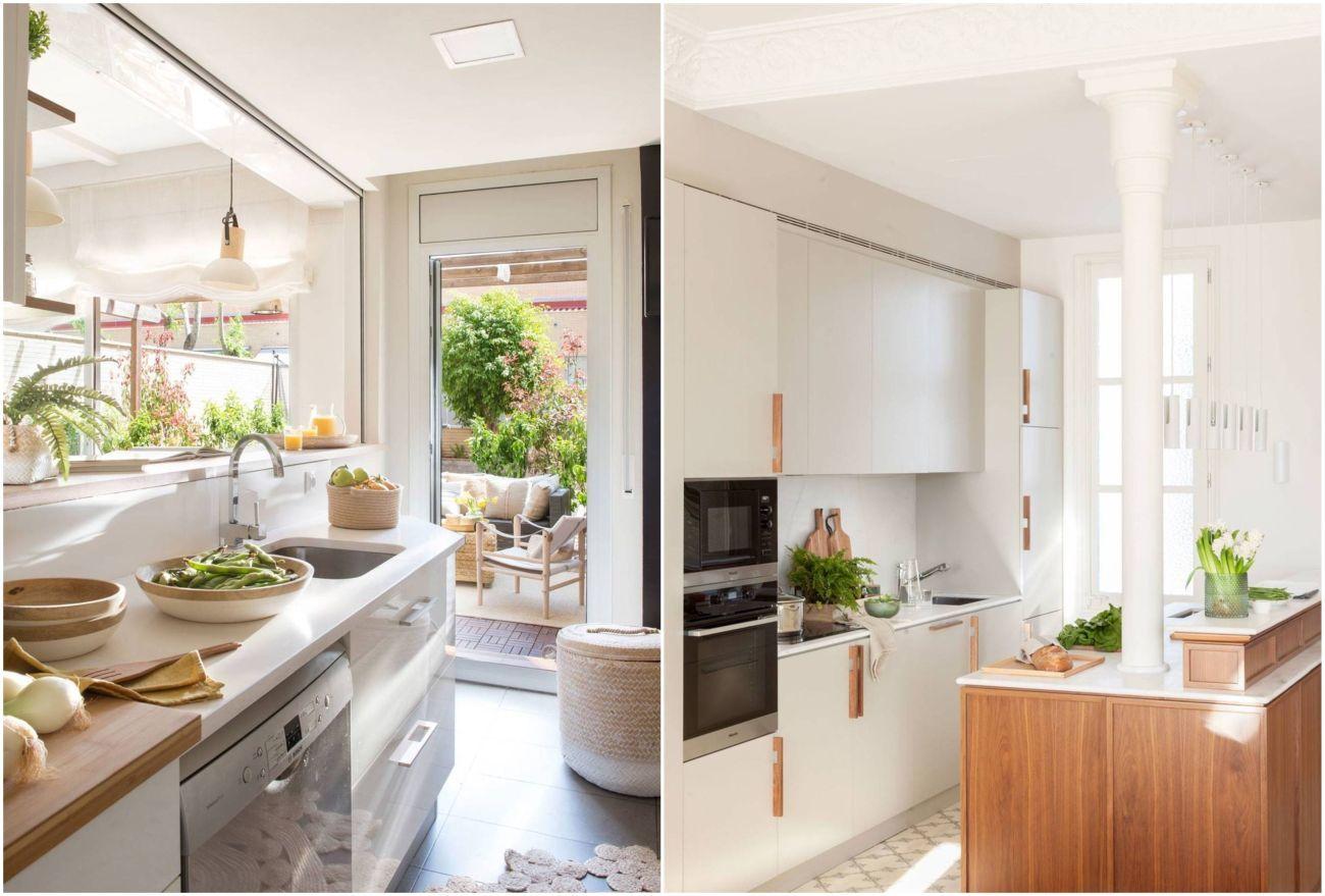 Kis konyhák beépített gépekkel
