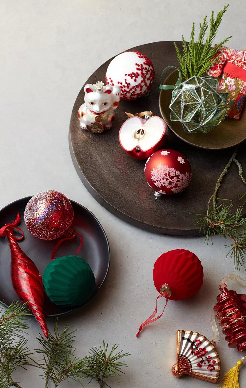 Keleti hangulatú karácsonyfadíszek