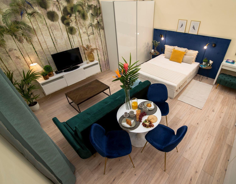 35 m2-es pozsonyi úti lakás - Budapest - tervező: Balogh Ágnes lakberendező