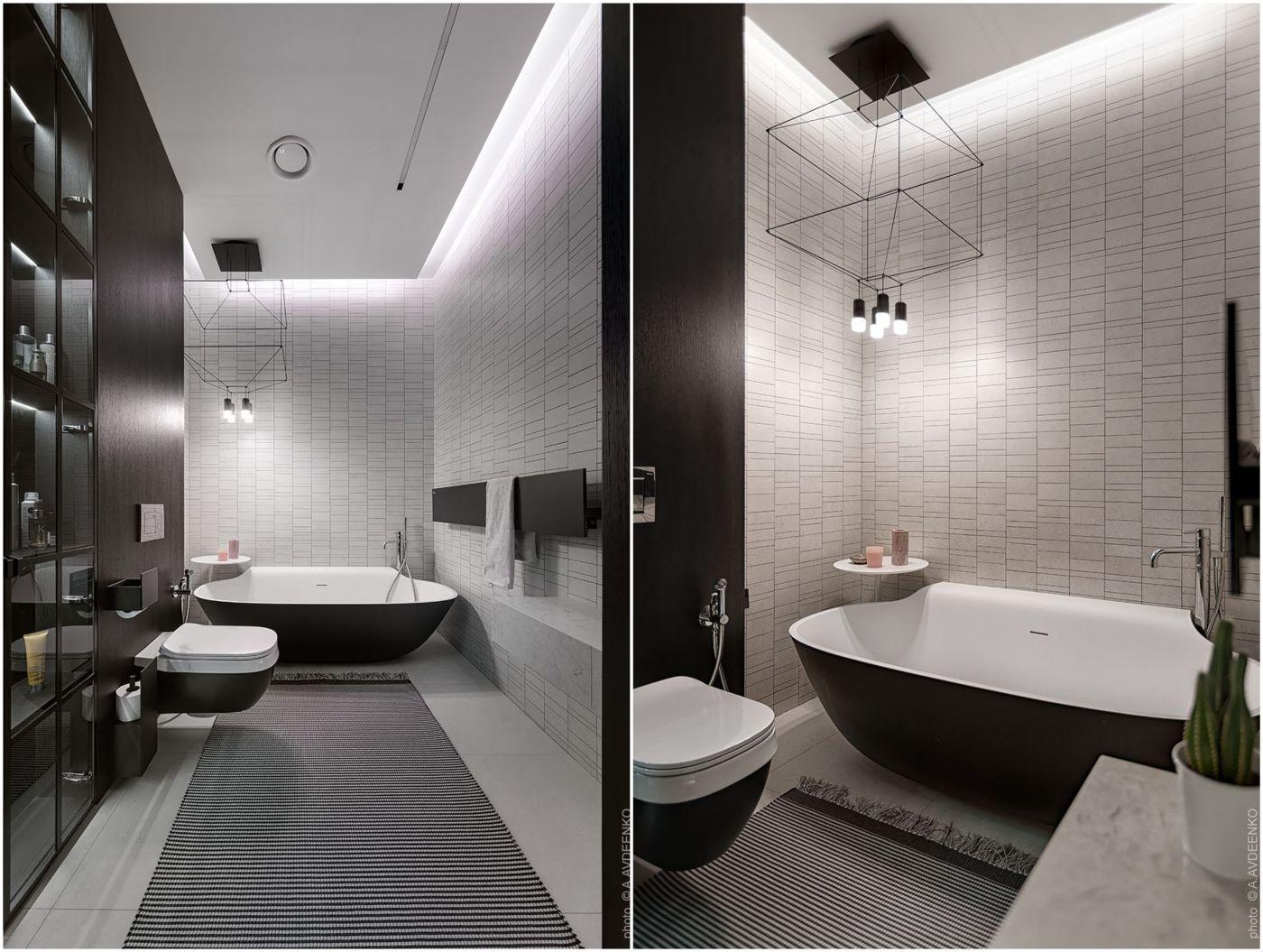 A vendégszoba fürdőszobája